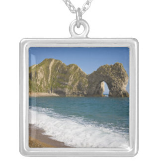 Durdle Door, Lulworth Cove, Jurassic Coast, Silver Plated Necklace