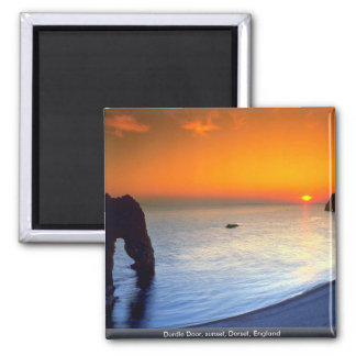 Durdle Door, sunset, Dorset, England Magnet