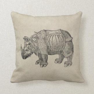 Durer Rhino Cushion