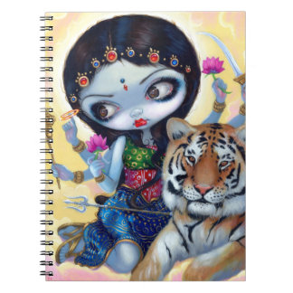 """Durga and the Tiger"" Notebook"