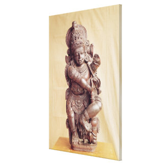 Durga, from Southern India Canvas Print