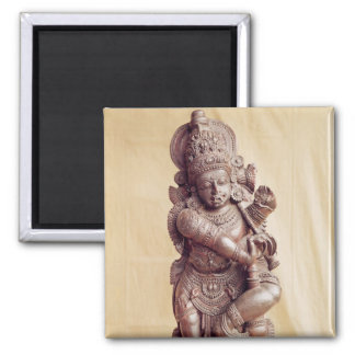 Durga, from Southern India Square Magnet