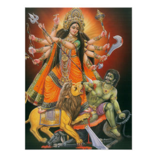 Durga Mahisasuramardini Poster