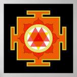 Durga Yantra Poster