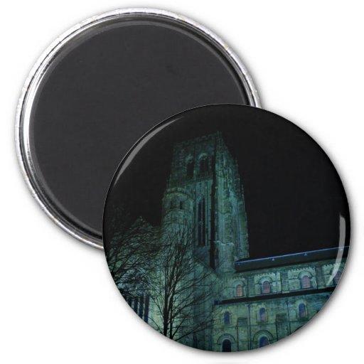 Durham by night refrigerator magnets