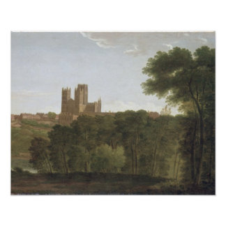 Durham, c.1790-1800 (oil on canvas) poster