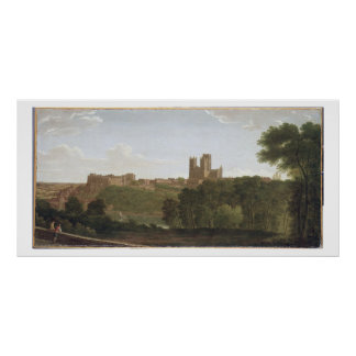 Durham c 1790-1800 oil on canvas print