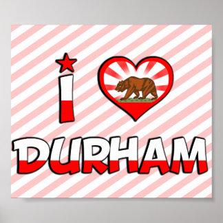 Durham CA Print
