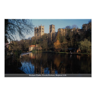 Durham Castle, County Durham, England, U.K. Print