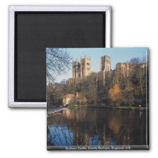 Durham Castle, County Durham, England, U.K. Square Magnet