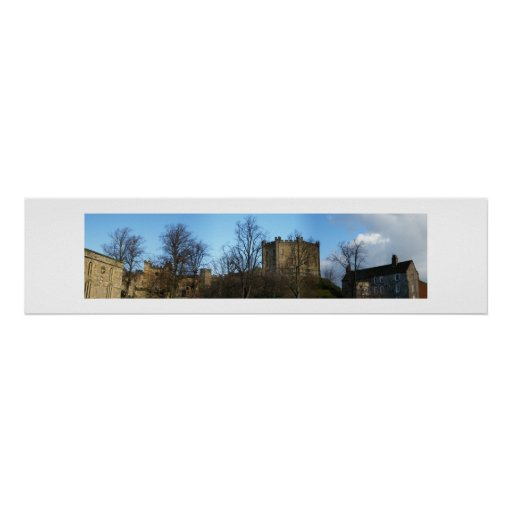 Durham Castle Panorama Posters