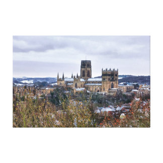 Durham Cathedral and castle Canvas Print