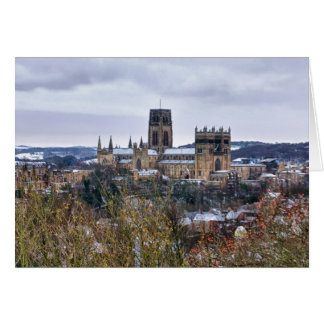 Durham Cathedral and castle Greeting Card