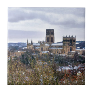 Durham Cathedral and castle Tile