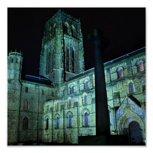 Durham Cathedral at Night Posters
