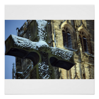 Durham Cathedral Cross Print