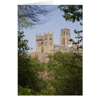 Durham Cathedral from River Bank Greeting Card