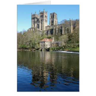 Durham Cathedral & Mill Greeting Card