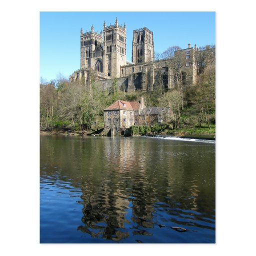 Durham Cathedral & Mill Post Card