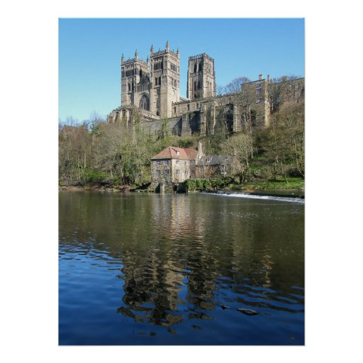 Durham Cathedral & Mill Posters