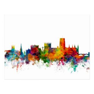 Durham England Skyline Cityscape Postcard