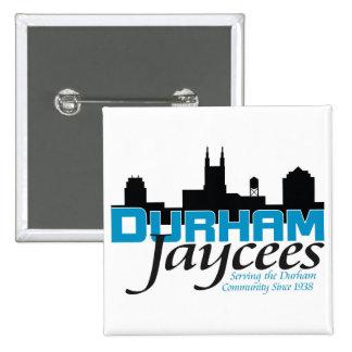 Durham Jaycee Flair Pinback Button