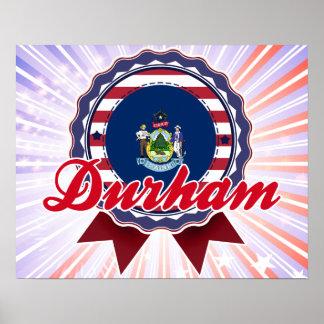 Durham ME Print