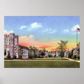 Durham North Carolina Duke Univ. Med School Poster
