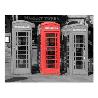 Durham Phonebox Postcard