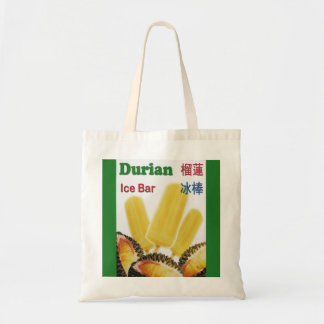Durian Ice Bar Tropical Fruit Popsicle Tote Bag