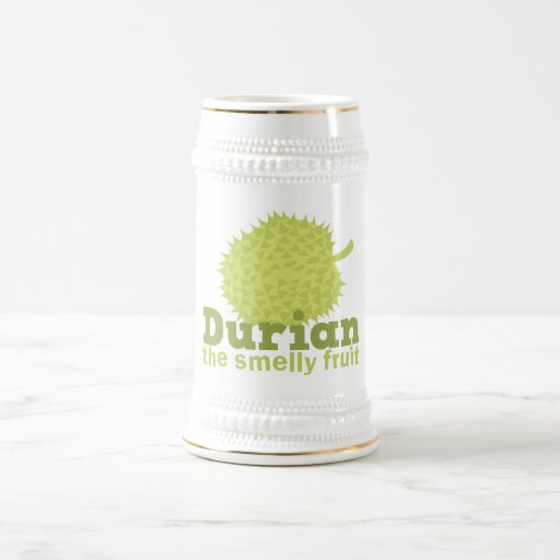 Durian the Smelly Fruit (from South east Asia) Coffee Mugs