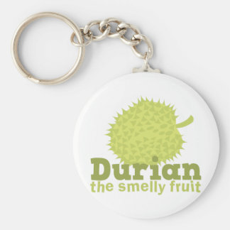 Durian the smelly fruit key ring