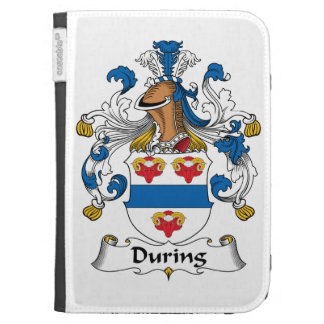 During Family Crest Kindle Folio Cases