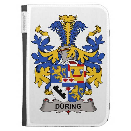 During Family Crest Kindle 3 Case