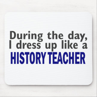 During The Day (History Teacher) Mouse Mat