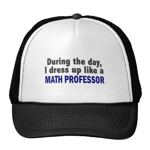 During the day i dress up like a math professor zazzle