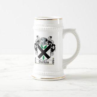 Durkin Family Crest Beer Steins