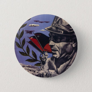 Durruti spanish civil war original poster 1936 FAI 6 Cm Round Badge