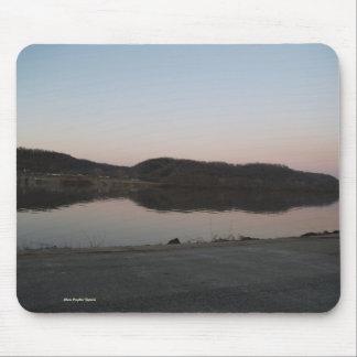Dusk Along Ohio River Valley Mousepad