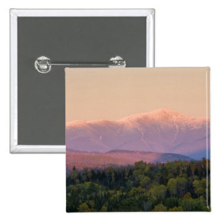 Dusk and Mount Washington in new Hampshire's 15 Cm Square Badge