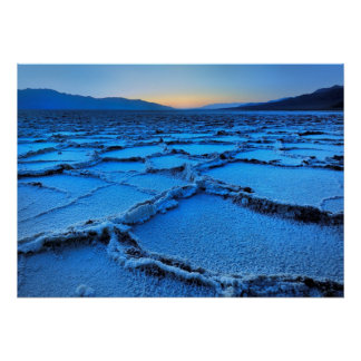 dusk, Death Valley, California Poster