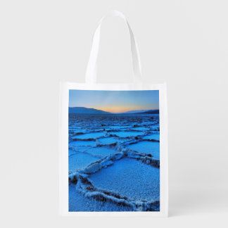 dusk, Death Valley, California Reusable Grocery Bag