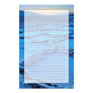dusk, Death Valley, California Stationery Paper