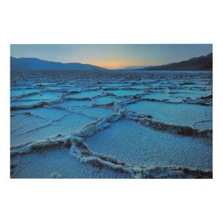 dusk, Death Valley, California Wood Print