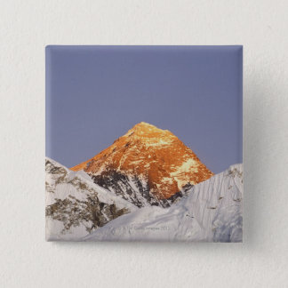 Dusk in Mount Everest, Nepal 15 Cm Square Badge