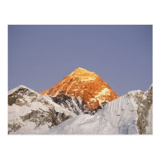 Dusk in Mount Everest, Nepal Postcard