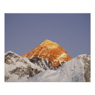 Dusk in Mount Everest, Nepal Posters