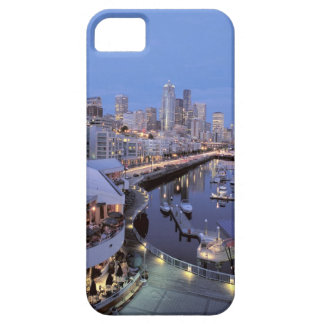 Dusk on Bell Harbor in Seattle, Washington. iPhone 5 Cases