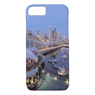 Dusk on Bell Harbor in Seattle, Washington. iPhone 7 Case