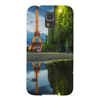Dusk reflections below the Eiffel Tower Case For Galaxy S5